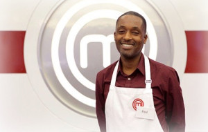 Paul in the MasterChef studio