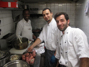 Little Water kitchen team